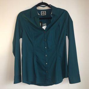 Express The Essential Shirt Original Green